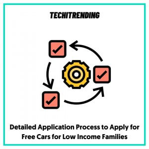Detailed Application Process to Apply for Free Cars for Low Income Families